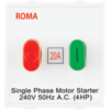 ROMA WHITE, 20A, MOTOR STARTER SWITCH-OVERLOAD SWITCH