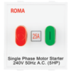 ROMA WHITE, 25A, MOTOR STARTER SWITCH-OVERLOAD SWITCH