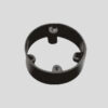 PRECISION PRER 25 Circular Box Extension Ring With Lid And Screw OD 25mm UPVC Pipe Fittings