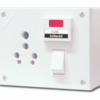 GoldMedal Cub 5 in 1 Uni. Switch Socket Combined With Fuse & Indicator - GL158