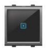 Goldenmedal Curve i-Touch Universal Switch (2 module) 102545