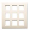 Goldmedal BELLA Cover Plates With Mounting Frames 18Module 31801
