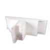 Precision PTIT 1002 – 100×100 mm UPVC Mini Trunking Moulded Internal Tee 90 Degree