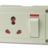 Goldmedal 16A Olive 4 In 1 With Junction Box - GL631