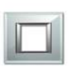 Goldmedal QUORRA CRYSTALLIGHT Cover Plates With Mounting Frames 2Module CR50201