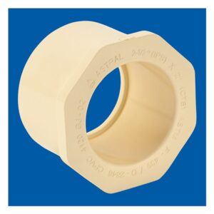 Astral CPVC Pipe, Reducer Bushing (Flush Style) - M837-338