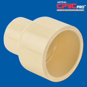 Astral CPVC Pipe Reducer Coupling SOC- M829-0421FG
