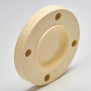 Astral CPVC Pipe, SCH-80 Fitting Blind Flange- M853-040FG